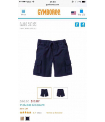 Quần bé trai Gymboree | Bé Trai