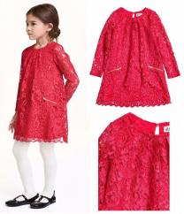 Đầm ren bé gái H&M | Bé Gái